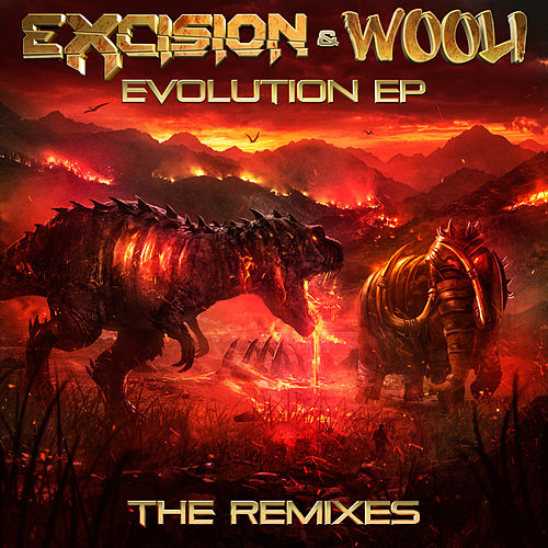 Evolution (The Remixes) by Excision
