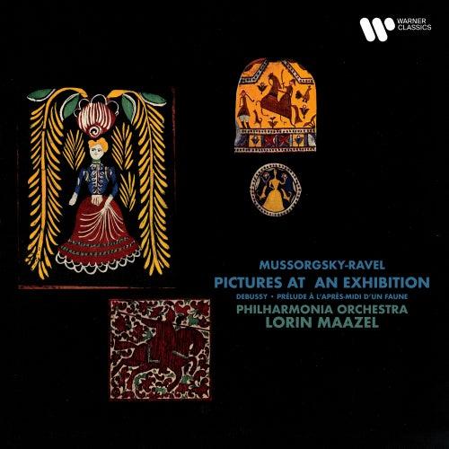 Mussorgsky, Ravel: Pictures at an Exhibition - Debussy: Prélude à l'après-midi d'un faune by Lorin Maazel