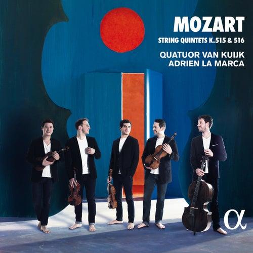 Mozart: String Quintets K. 515 & 516 fra Quatuor Van Kuijk