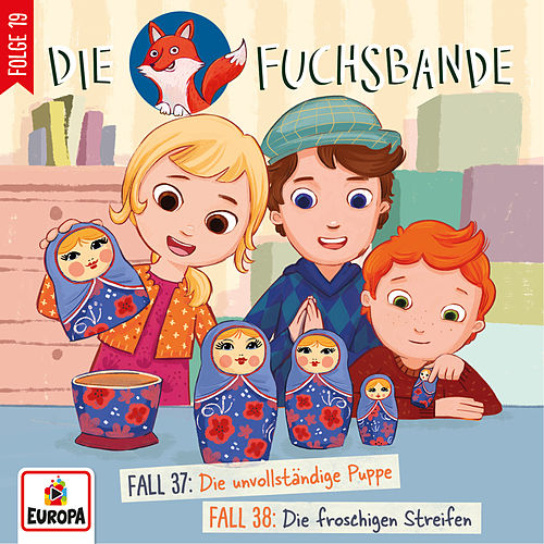 019/Fall 37: Die unvollständige Puppe/Fall 38: Die froschigen Streifen by Die Fuchsbande