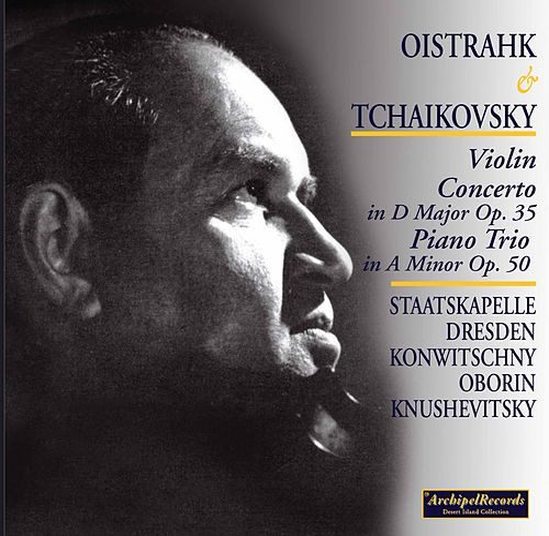 Oistrakh and Tchaikovsky by David Oistrakh