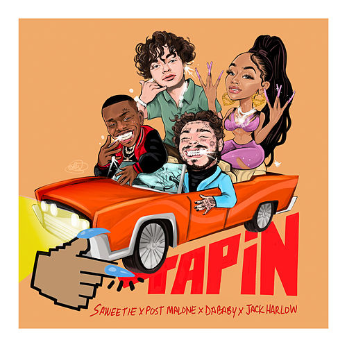 Tap In (feat. Post Malone, DaBaby & Jack Harlow) by Saweetie