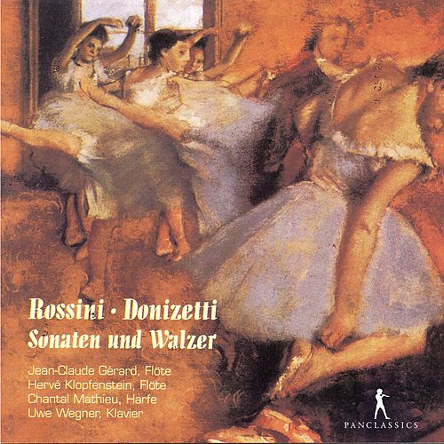The Flute Sonatas and Waltzes for Two Flutes by Jean-Claude Gérard