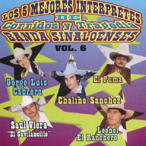 Los 5 Mejores Interpretes de Corridos y Tragedia Banda Sinaloenses de Chalino Sanchez