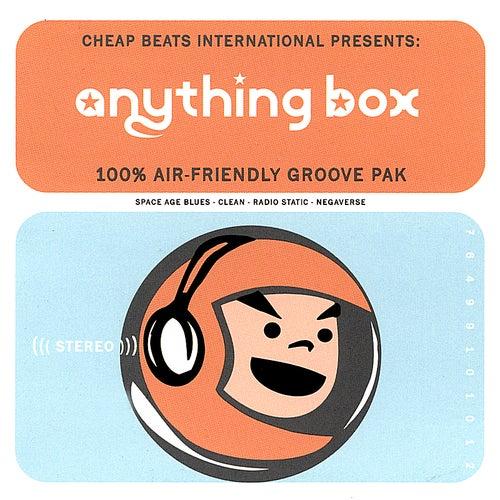 100% Air Friendly Groove Pak de Anything Box