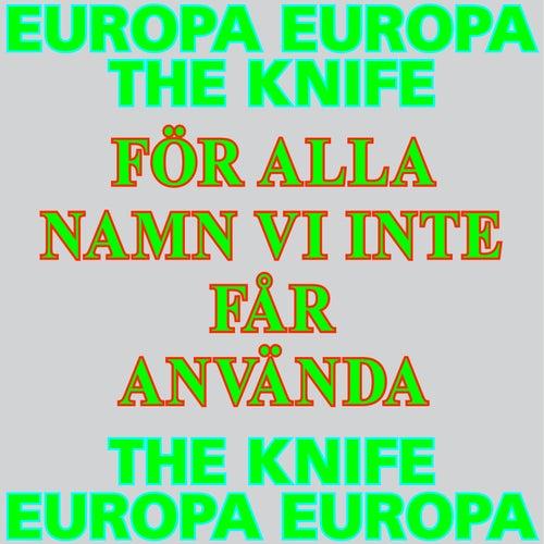 För alla namn vi inte får använda (Europa Europa Theme) by The Knife