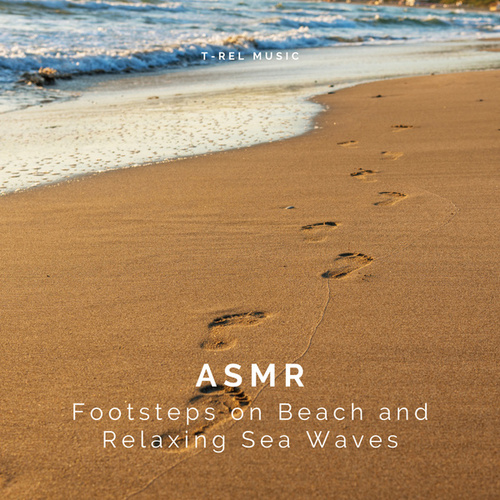 ASMR Footsteps on Beach and Relaxing Sea Waves by Ocean Sounds (1)