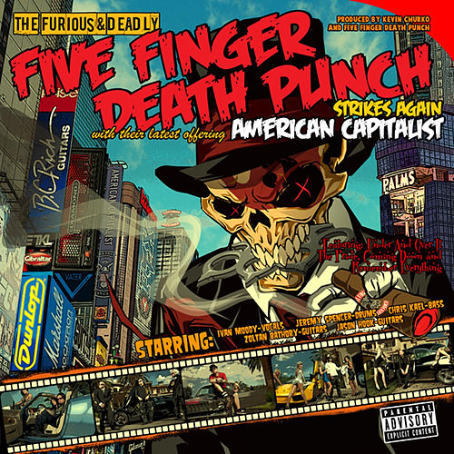 American Capitalist (Deluxe Edition) by Five Finger Death Punch