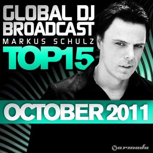 Global DJ Broadcast Top 15 - October 2011 de Various Artists