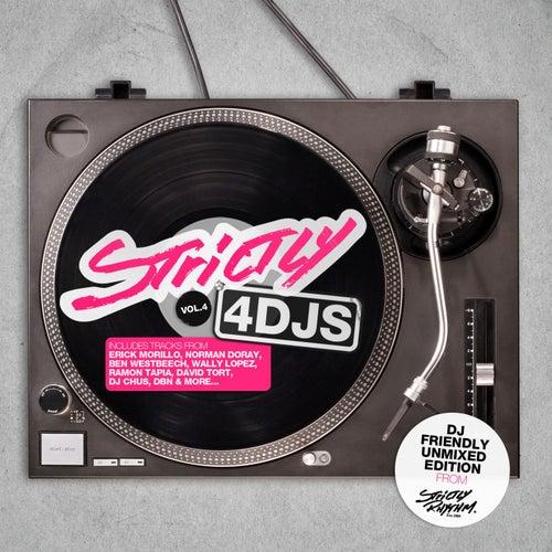 Strictly 4 Djs Vol 4 de Various Artists