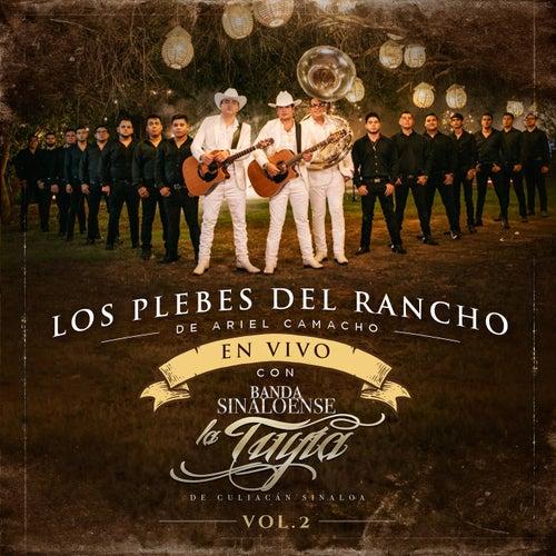 (En Vivo) con Banda Sinaloense La Tuyia de Culiacan, Sinaloa (Vol 2) by Ariel Camacho