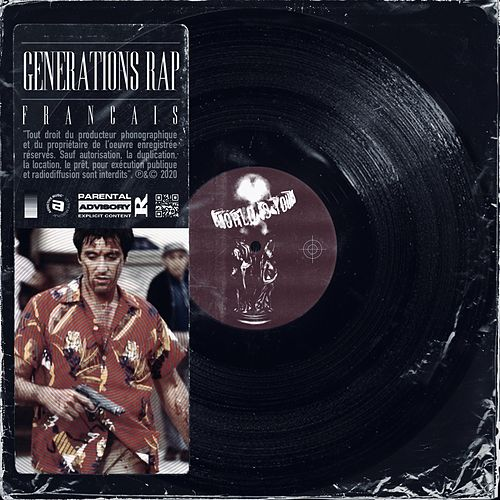 Générations rap français von Various Artists