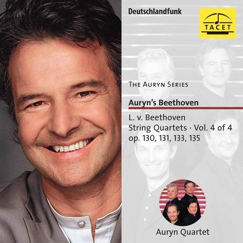 The Auryn Series: Beethoven String Quartets, Vol. 4 von Auryn-Quartet