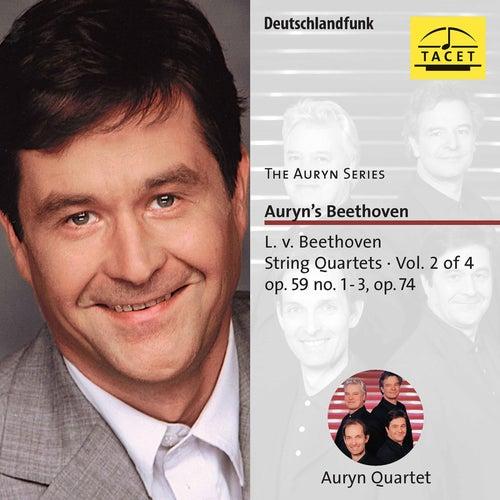 The Auryn Series: Beethoven String Quartets, Vol. 2 von Auryn-Quartet