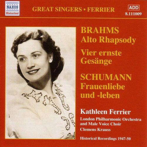 Brahms: Alto Rhapsody / Schumann: Frauenliebe Und Leben (Ferrier) (1947-1950) de Kathleen Ferrier