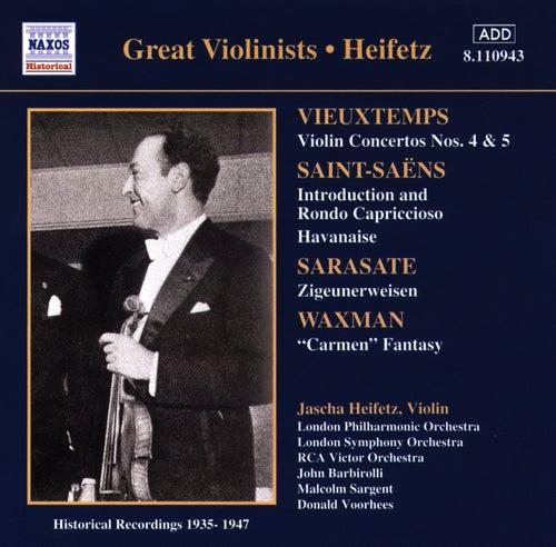 Vieuxtemps: Violin Concertos Nos. 4 and 5 (Heifetz) (1935-1947) de Jascha Heifetz