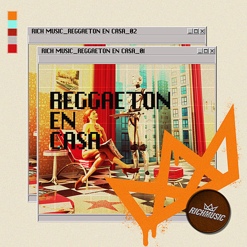 Reggaeton En Casa de Various Artists