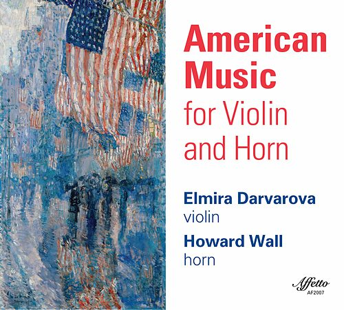 American Music for Violin & Horn von Elmira Darvarova