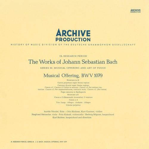 Bach: Musical Offering, BWV 1079 von Karl Richter