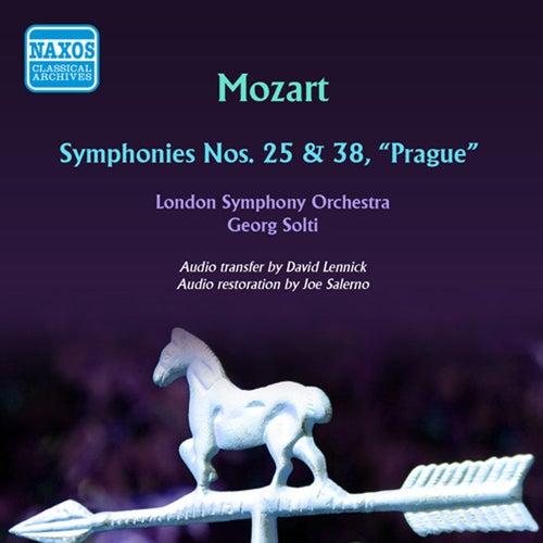 Mozart: Symphonies Nos. 25 & 38 de Georg Solti