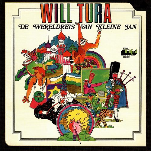 De wereldreis van kleine Jan by Will Tura