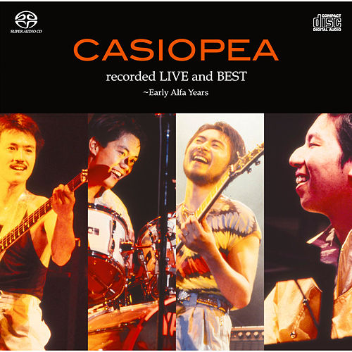Recorded Live and Best - Early Alfa Years de Casiopea