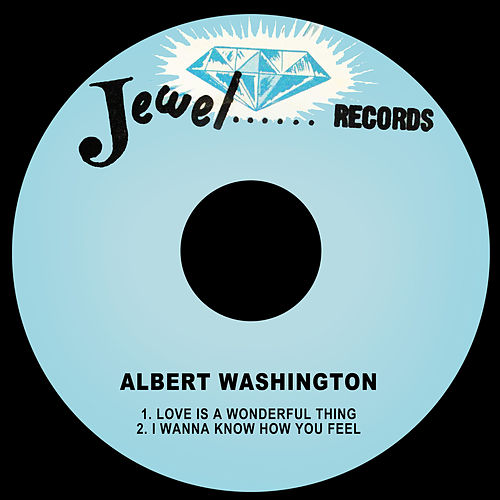 Love is a Wonderful Thing / I Wanna Know How You by Albert Washington