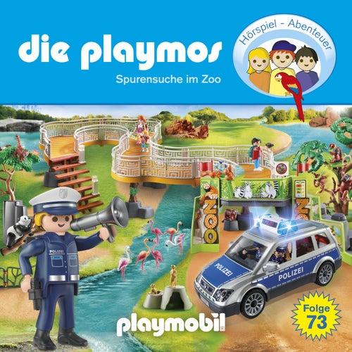 Folge 73: Spurensuche im Zoo (Das Original Playmobil Hörspiel) von Die Playmos