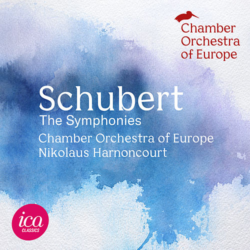 Schubert: Symphonies Nos. 1-6, 8 & 9 (Live) by Chamber Orchestra of Europe