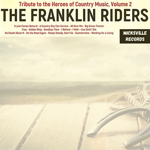 Tribute to the Heroes of Country Music, Volume 2 von Franklin Riders