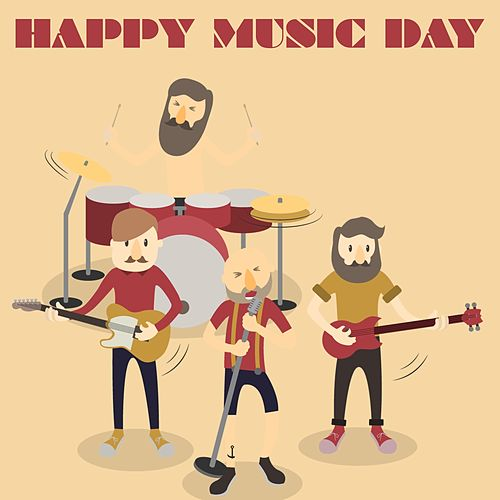 Happy Music Day (The Top Selection Happy Rock Music) von Various Artists