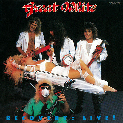 Recovery: Live! (Japan Version) by Great White