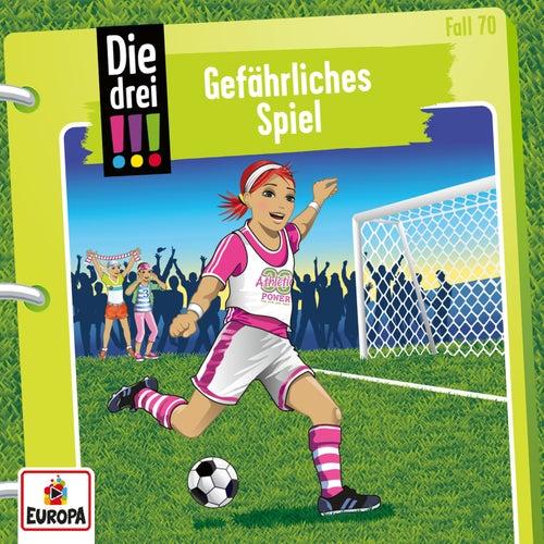 070/Gefährliches Spiel by Die Drei !!!
