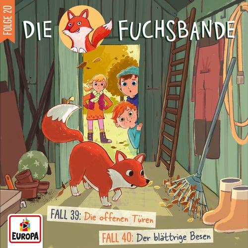 020/Fall 39: Die offenen Türen / Fall 40: Der blättrige Besen by Die Fuchsbande