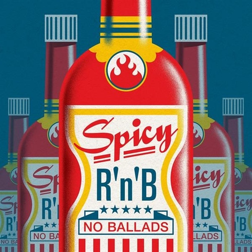Spicy R'n'B: No Ballads de Various Artists