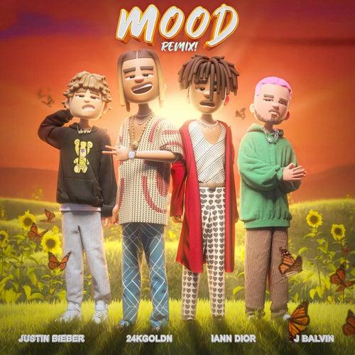 Mood (Remix) van 24kGoldn, Justin Bieber, J Balvin & iann dior