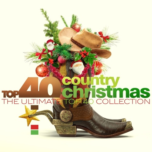 TOP 40 - Country Christmas (Country Kerst) de Various Artists