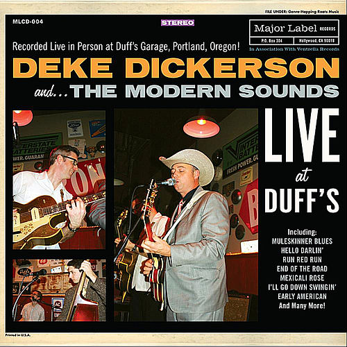 Live At Duff's by Deke Dickerson