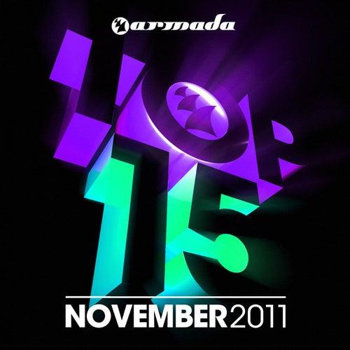 Armada Top 15 - November 2011 von Various Artists