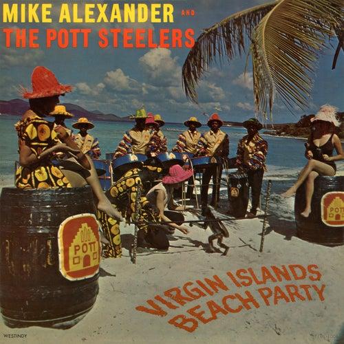 Virgin Islands Beach Party by Mike Alexander