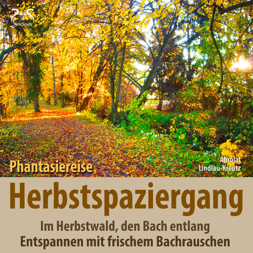 Herbstspaziergang: Phantasiereise Herbstwald, den Bach entlang - Entspannen mit frischem Bachrauschen von Birgit Lindlau-Kreutz