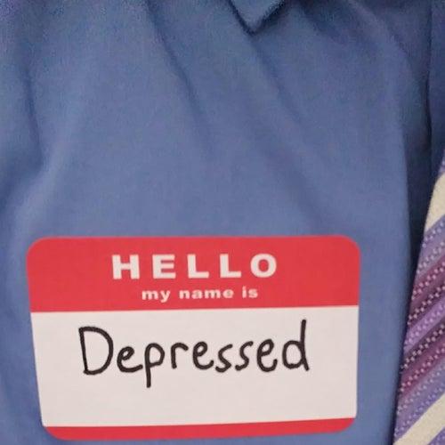 HELLO my name is Depressed von Mccm