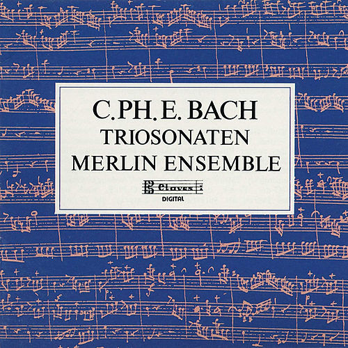 C.P.E. Bach : Trio Sonaten for Flute, Oboe and Continuo by Merlin Ensemble
