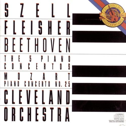 Beethoven:  Five Piano Concertos & Mozart:  Concerto No. 25 in C Major for Piano and Orchestra, K. 503 de George Szell