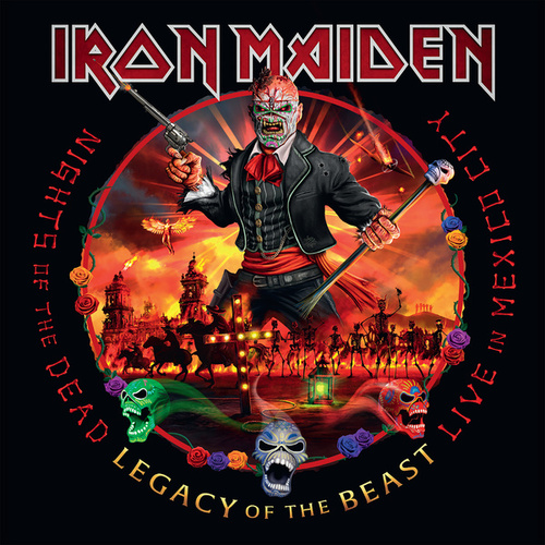 Nights of the Dead, Legacy of the Beast: Live in Mexico City von Iron Maiden