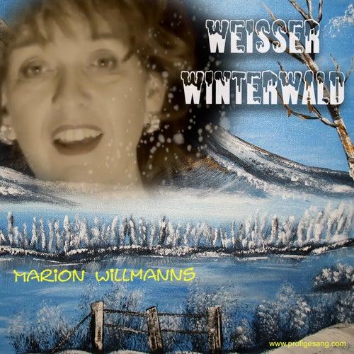 Weisser Winterwald - Weihnacht von Marion Willmanns
