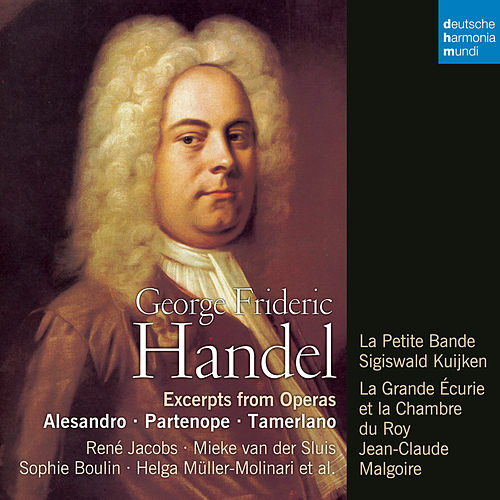Handel: Opera Arias by René Jacobs