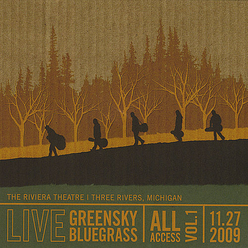 All Access: Vol. 1 by Greensky Bluegrass