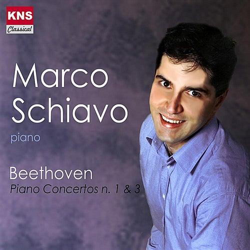 Beethoven Piano Concertos n. 1 & 3 de Marco Schiavo