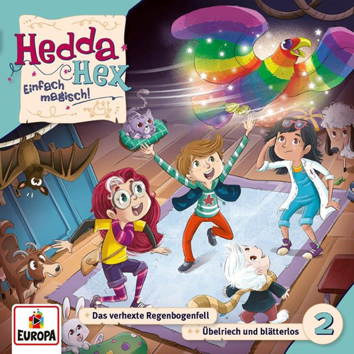 002/Das verhexte Regenbogenfell/Übelriech und blätterlos by Hedda Hex